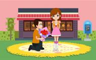 幸福婚礼短片-喜宴迎宾动画