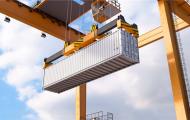 集装箱码头-区块链物流仓储动画
