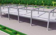 钢结构建筑工程-施工演示动画