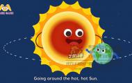 地球英文儿歌-二维课件动画