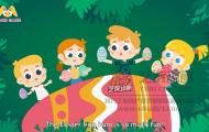多媒体教学-卡通课件动画