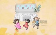 青春梦飞扬-手绘线稿动画
