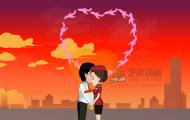 空姐飞行纪念-二维婚礼动画