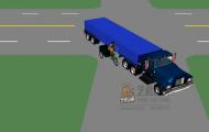 交通事故-安全警示动画