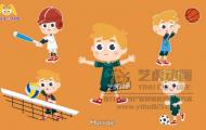 球的类型-课件动画短片