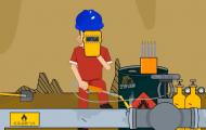 严格动火作业-安全演示动画