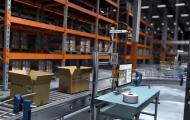 机器人-仓储物流快递动画