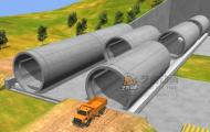 隧道工程施工-3D演示动画