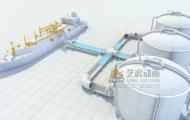液化天然气-3D流程动画